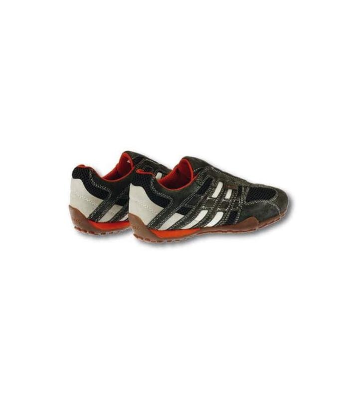πάνινα παπούτσια GEOX SNAKE Slipper Grey