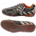 Sneakers GEOX SNAKE grey/white