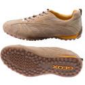 πάνινα παπούτσια GEOX SNAKE μπεζ