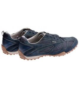 πάνινα παπούτσια GEOX SNAKE μπλε