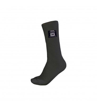 Short nomex socks OMP FIA - black