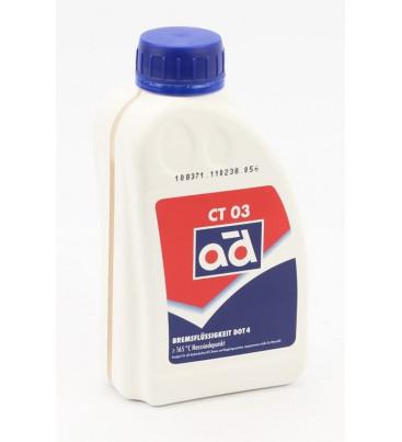 Спирачна течност AD DOT4 500 ml