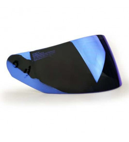 LS2 Rookie Visor - Iridium Blue