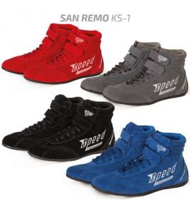 Speed San Remo KS-1, картинг обувки