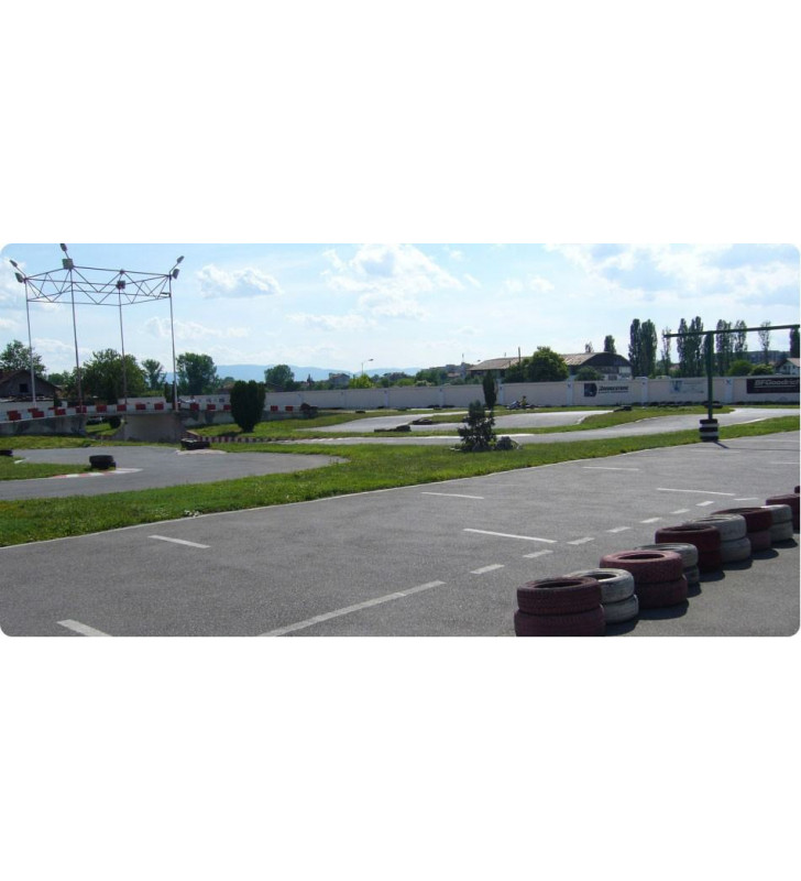Karting Benkovski - voucher for karting