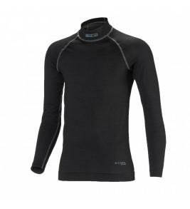 Sparco Sheild RW-9, FIA Top Long Sleeve, Black
