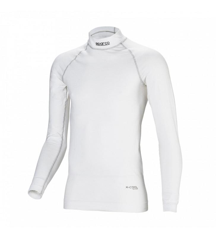 Sparco Sheild RW-9, FIA Top Long Sleeve, White