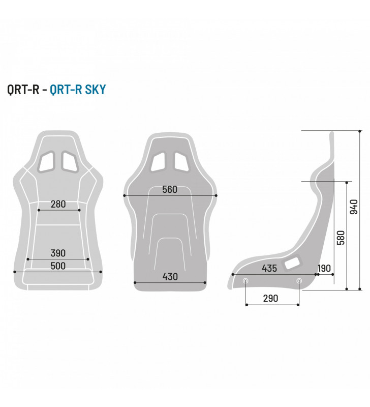Sparco QRT-R, Racing Seat