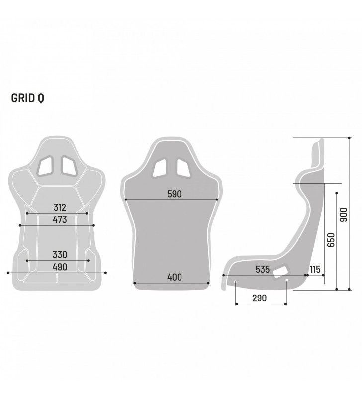 Sparco Grid Q, Racing Seat