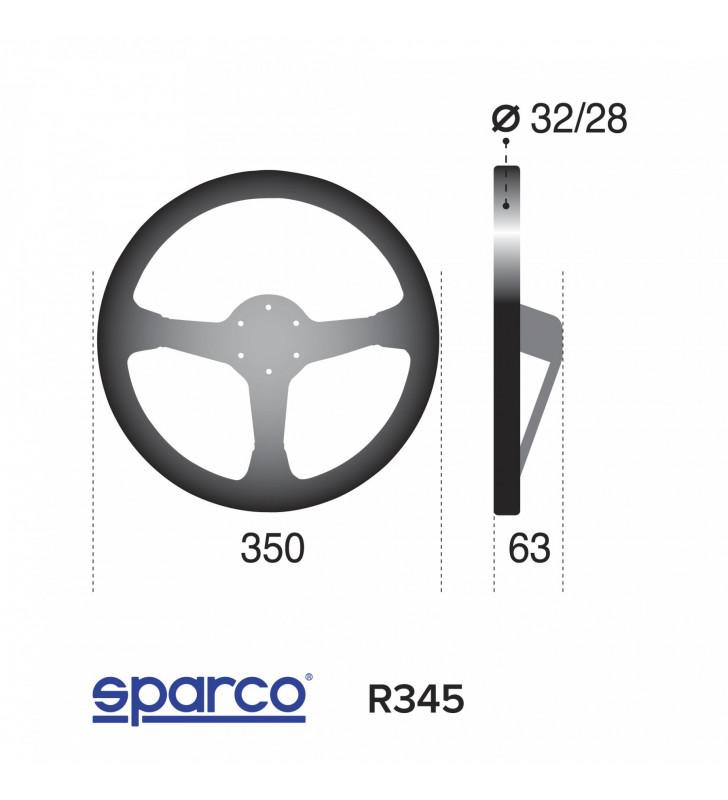 Sparco R345, FIA Racing Steering Wheel