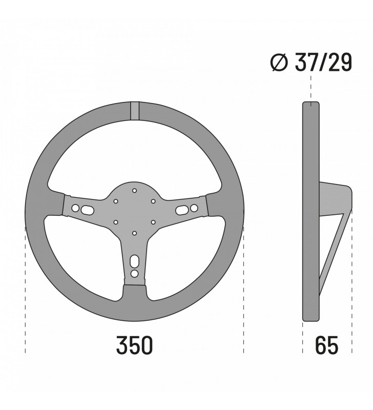 Sparco Targa 350, Tuning Steering Wheel