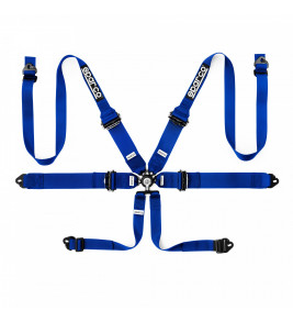 Sparco, FIA 6-Point Harness 3/2 Inch
