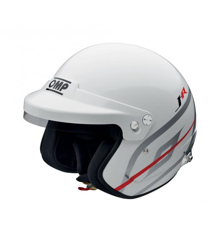 OMP J-R Hans, FIA Open Face Helmet