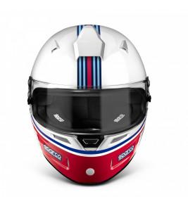 FIA Sparco Air Pro RF-5W Martini Racing, Racing Helmet, Stripes Design
