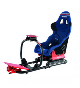 Sparco Evolve Pro 2000 Martini Racing, Sim Race Chassis With Seat