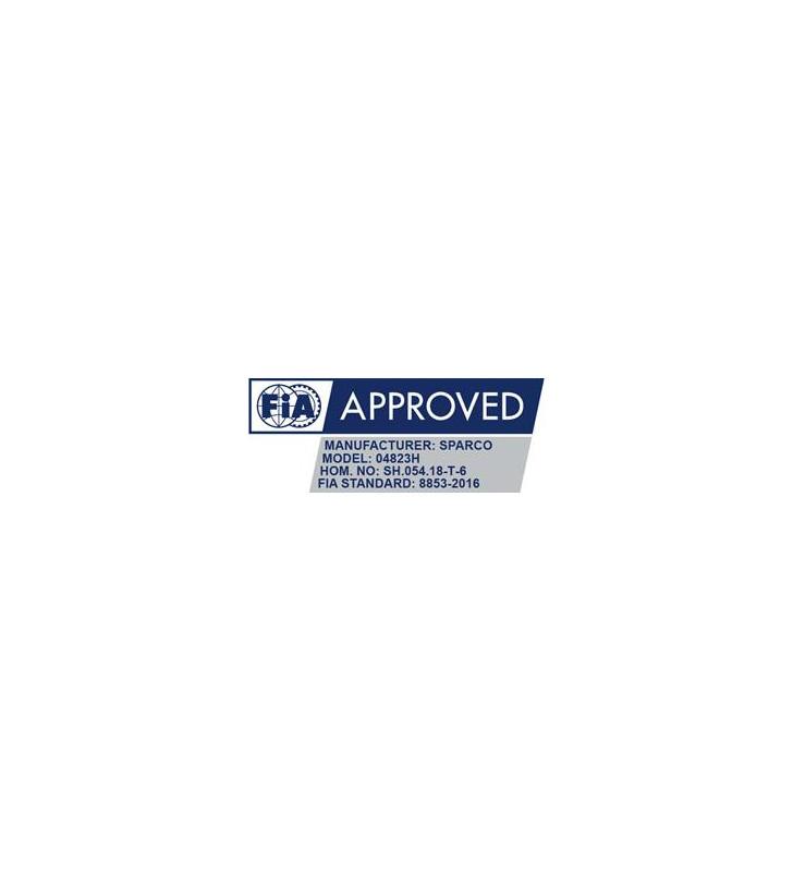 Sparco 04818RHAL1, FIA  6-point Harness 3 Inch