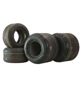 Set of 4 Karting Tires Duro Hard