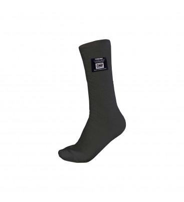 Къси номексови чорапи OMP FIA - черни