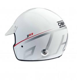 Open face helmet OMP J8 FIA