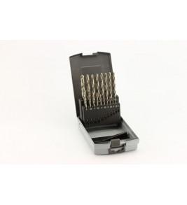 Комплект бургии HSS-G 19 броя 1,0-10,0 мм