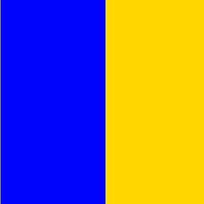 Синьо с жълто